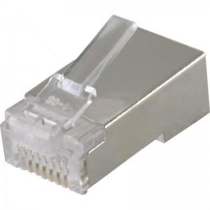 CAT5 Shielded RJ45 Connectors for STP Cable