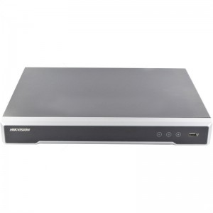 Hikvision 8 Channel NVR 80Mbps with 8 PoE - 2 SATA Bays incl 4TB HDD
