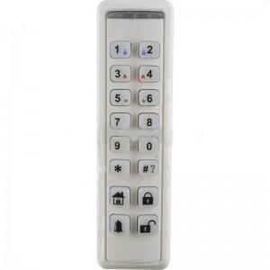 Risco 2-Way Wireless Slim White Internal Keypad