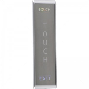Securi-Prod Surface Slimline Touch Switch - Silver NO and NC