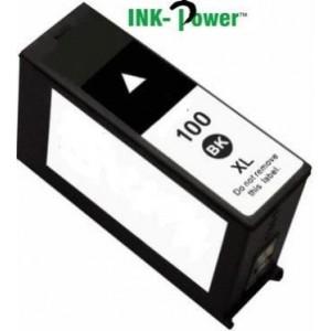 Inkpower Generic for Lexmark 100XL - Black Cartridge