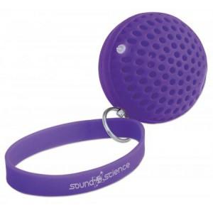 Manhattan Sound Science Atom Glowing Wireless Speaker - Purple