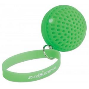 Manhattan Sound Science Atom Glowing Wireless Speaker - Green