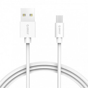 Orico Micro USB Charge & Sync Cable 1M – White