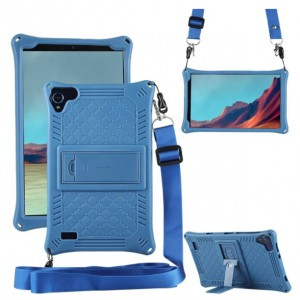 Rugged Cover for Samsung T295 with Shoulder Strap