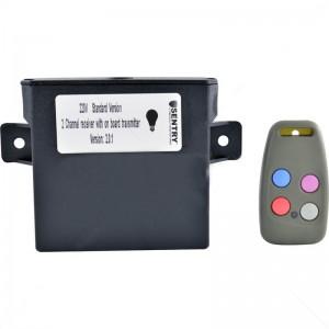 Sentry - 220V Light Receiver Transmitter Incl 1 x 4 Button Tx (433.92)