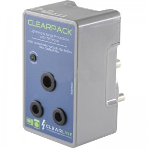 Clearline Mains Protect Socket 16A Plug-in