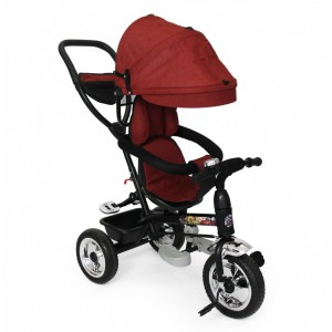 Nuovo Stages Stroller Tricycle - Red