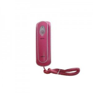 Bell Corded Telephone Rainbow 58200 - Pink