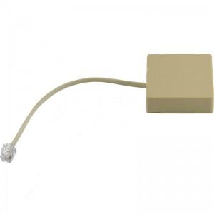 Securi-Prod Venus Alarm Adaptor - RJ11 Socket Plus Connector Lead