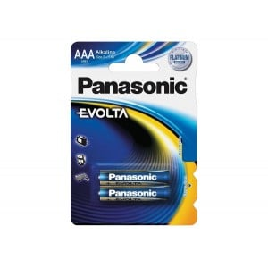 Panasonic Evolta Premium Alkaline AAA - 2 Pack