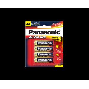 Panasonic Alkaline AA Battery - 4 Pack