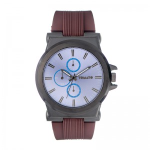 Tomato Gents Blue Dial Gun Case 48mm Watch