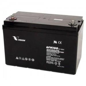 Vision Fully-Sealed Deep Cycle 12V 100AH Battery