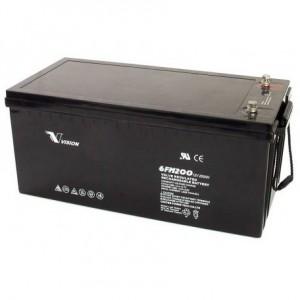 Vision Fully-Sealed Deep Cycle 12V 200AH Battery