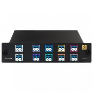 MikroTik 8 Channel LC CWDM MUX/DEMUX Unit
