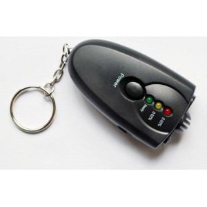 Keychain Alcohol breathalyzer