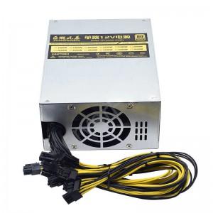 OEM 80 Plus Platinum 1800W Mining PCI-E Power Supply (PSU) - 10x PCI Express