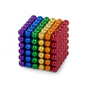 3mm Magnetic Balls - Rainbow (216 Pieces)