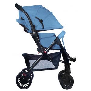 Little Bambino Delux Buddy Baby Stroller-Blue