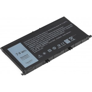 74Wh Type 357F9 71JF4 Battery Compatible with Dell Inspiron 15 7000 7559 7557 7567 7566 7759 15 5576 5577 INS15PD Series 15-7559 0GFJ6 P57F 071JF4 0357F9 6 Cell 11.4V Li-ion Laptop Battery