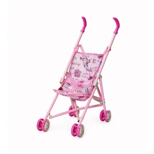 Jeronimo - Dolly Stroller - Pink Teddies