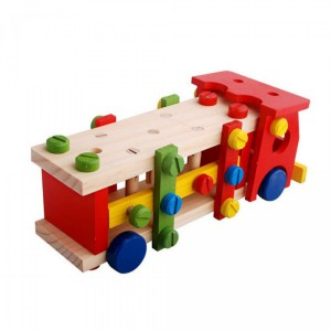 Jeronimo Wooden Toy - Tool Truck