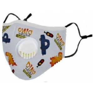 Clinic Gear Kids Washable Protective Mask with Filter - Boys