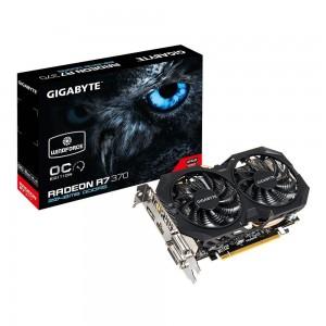 Gigabyte AMD R7 370 256 Bit GDDR5 2GB 2xDVI/HDMI/DP Overclocked Graphics Card
