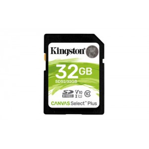 Kingston 32GB Canvas Select Plus SD Memory Card