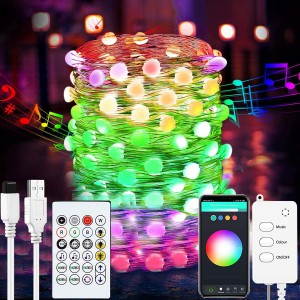 5m Bneta Smart Fairy Lights DC5V Power Supply - alexa/google home enabled