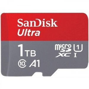 SanDisk 1TB Ultra microSDXC A1 UHS-I/U1 Class 10 Memory Card (Without Adapter)