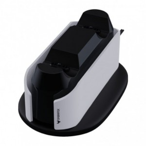 Sparkfox PlayStation 5 Design Dual Charging Dock - White/Black