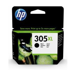 HP  305XL High Yield Black Original Ink Cartridge - Blister Pack