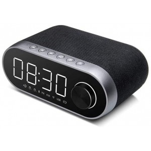 Remax RB-M26 Bluetooth 4.2 Speaker LED Display Alarm Clock Radio Player