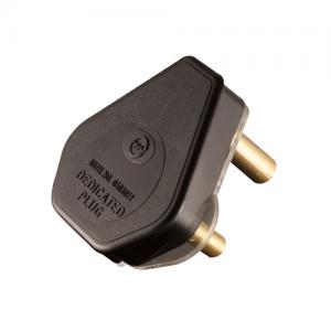Dedicated Plug Top 3 Pin 16A - Black