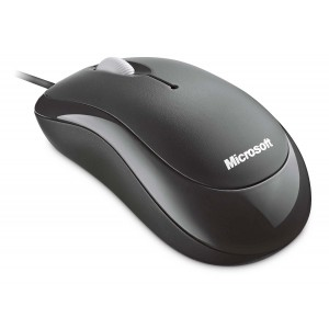 Microsoft Basic Optical Mouse 1.0 PS2/USB (Black)