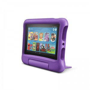 """All-New AMAZON Fire 7 Kids Edition Tablet (9th Gen) 7"""" Display - 16GB with Kid-Proof Case - Purple, Open Box, Good Condition"""