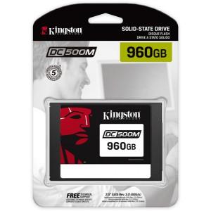 Kingston Technology - DC500 2.5 inch 960GB Serial ATA III 3D TLC Internal Solid State Drive