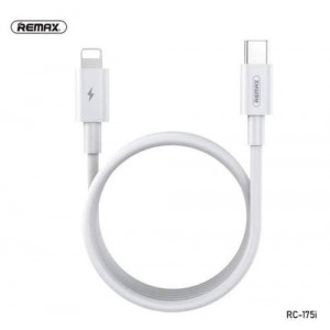 Remax Chaining Series 1m Fast-Charging Data Cable Type-C to Lightning - White