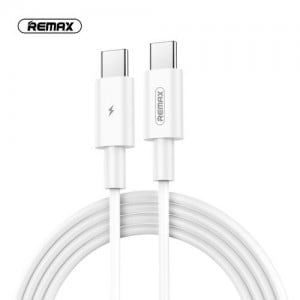 Remax 1m Type-C To Type-C Data Cable - White