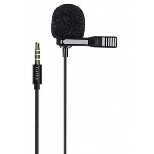 Earldom ET-34 Mini Microphone with Clip 3.5mm