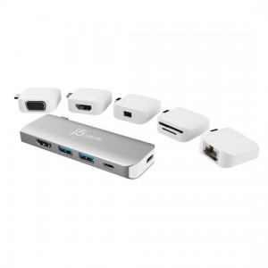 j5create ULTRADRIVE Kit USB-C Multi-Display Modular Dock