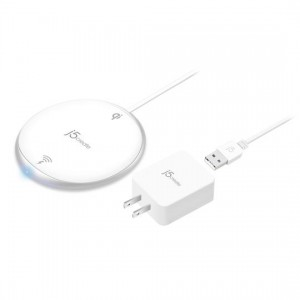 J5create JUPW1101 Mightywave 10W Wireless Charger