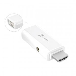 J5create HDMI to VGA Video Adapter Converter with Audio