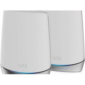 Orbi WiFi 6 System AX4200 - Orbi AX4200 Router and AX4200 Satellite (600 + 1200 + 2400Mbps) Robust Performance Whole Home Mesh WiFi System