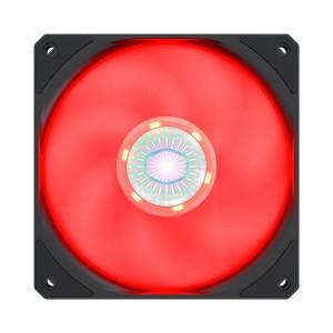 Cooler Master Sickleflow 120mm Case Fan Red LED
