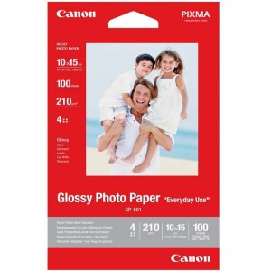Canon GP-501 4 x 6 100 SH Photo Glossy Paper