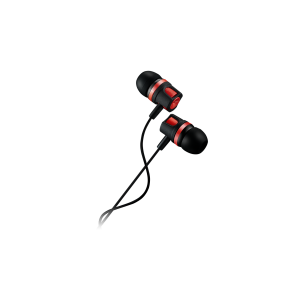 Canyon EP-3 Stereo Earphones with Microphone -Red
