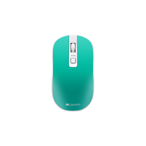 Canyon MW-18 2.4GHz Wireless Rechargeable Mouse with Pixart Sensor - Aquamarine